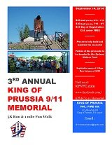 Third Annual King of Prussia 9/11 Memorial 5k