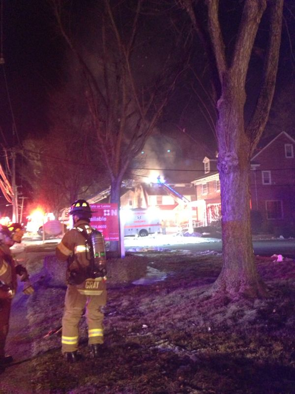 Saturday Evening Extra Alarm Sends Engine 47-1 to Delaware County