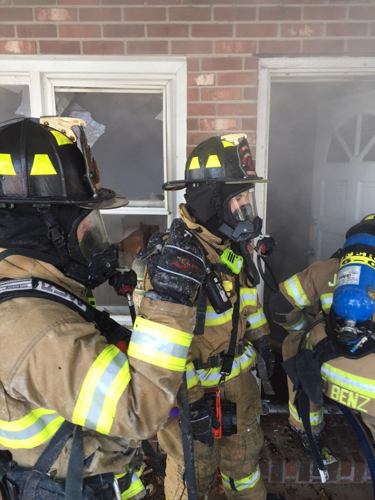 Engine company goes to work at West Norriton All Hands