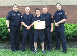 Congratulations Firefighter Lamnin!