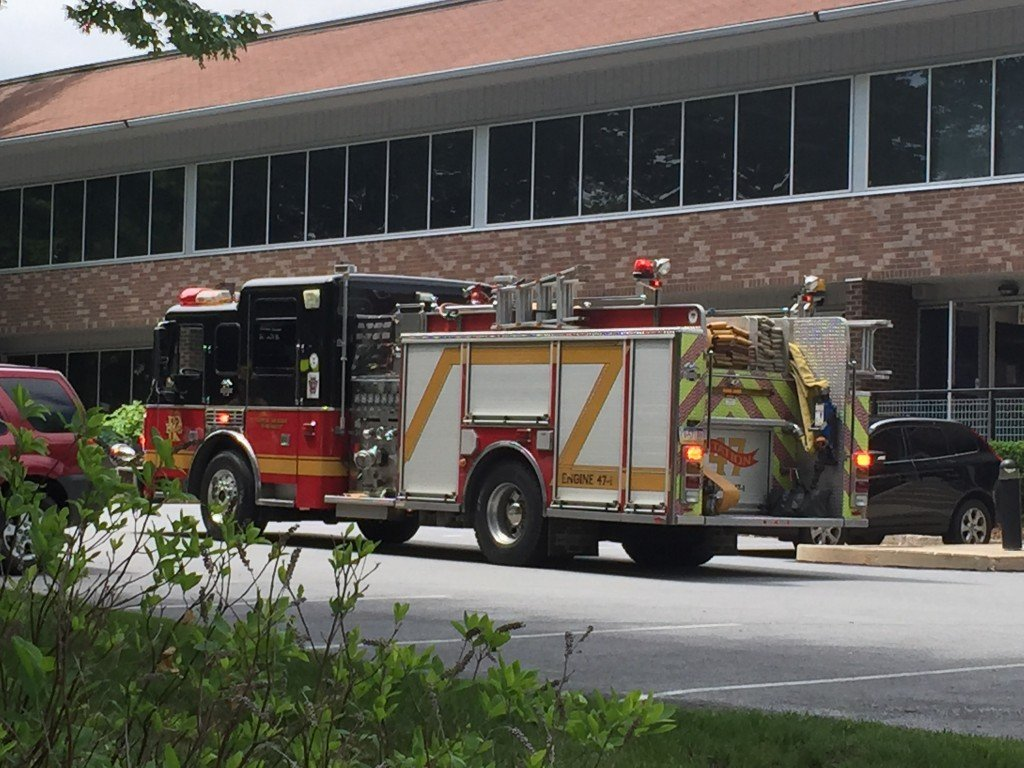 Smoke in Building Causes Evacuation