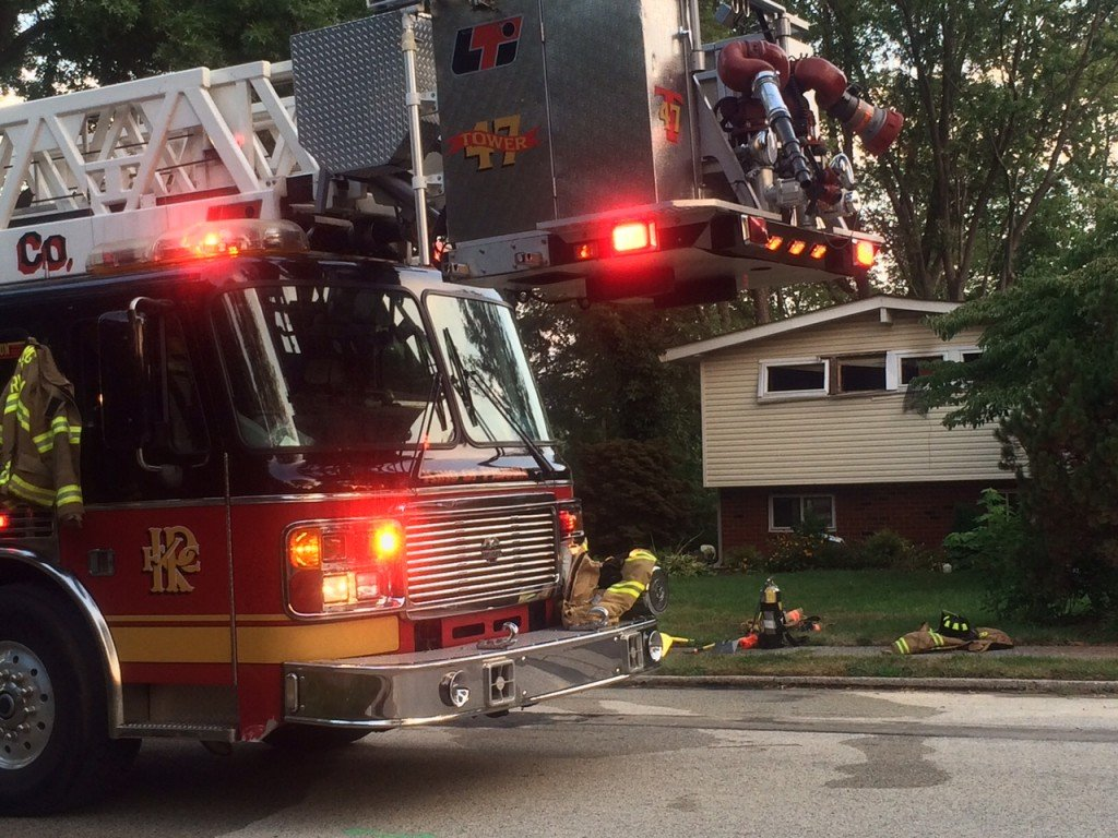 Early Morning Fire on Dartmouth Drive