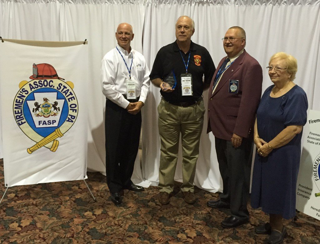 KPVFC Honored with the Robert Little Memorial Fire Safety Education Award