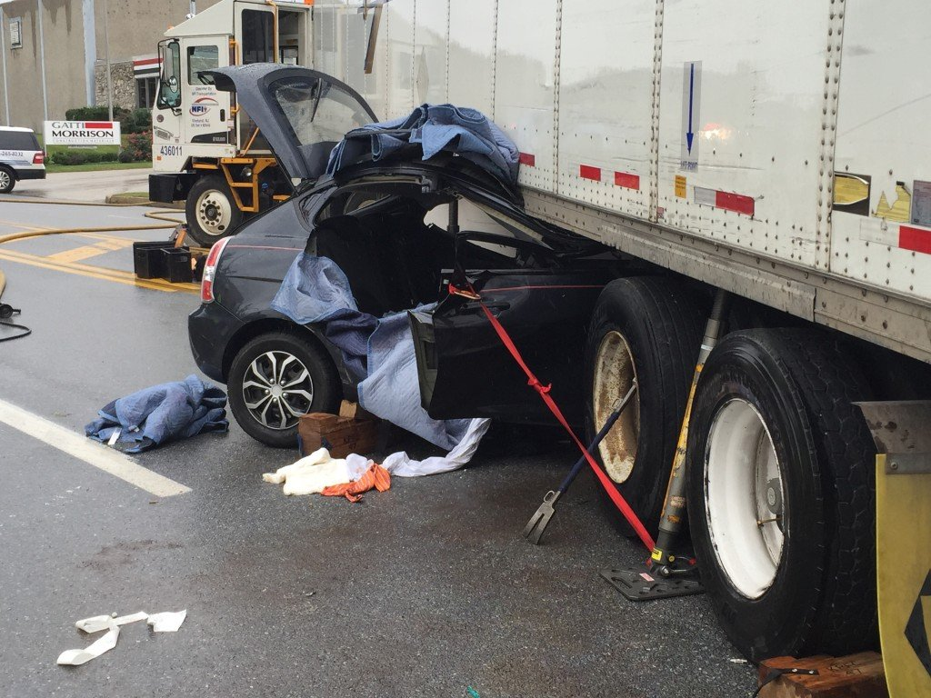 SEMCTRTF Responds to Driver Trapped Under Tractor Trailer