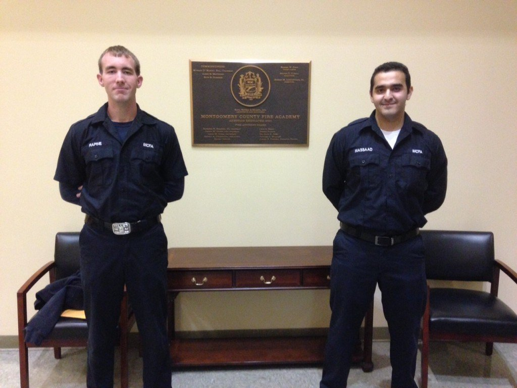 Congratulations FF Massaad and FF Rapine
