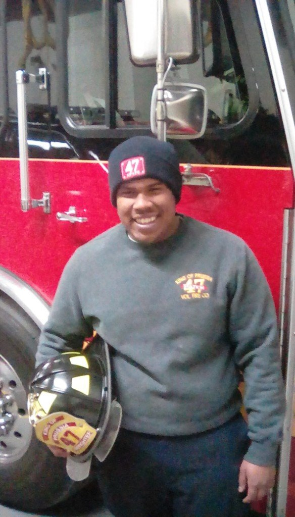 Congratulations Firefighter Montero!